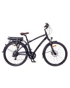 "Hamburg Bicicleta eléctrica Urbana, 250W, Batería 36V 13Ah 468Wh-28""-Matte Black"