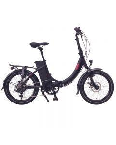 "FOO F1 20"" E-Bike, E-Plegable, Blanca o Negra"