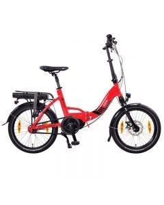 """Paris 20"""" MAX N8C E-Bike, E-Plegable, Motor Central, Batería 36V 16Ah, 504 Wh"""